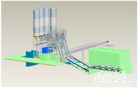 XCMG Schwing PC-Type Smart Mixing Plant was Successfully Developed