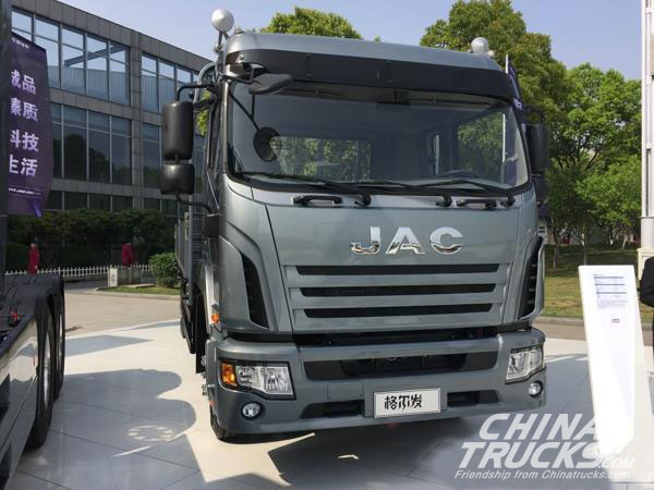 JAC Heavy Trucks Climbs 44% in December