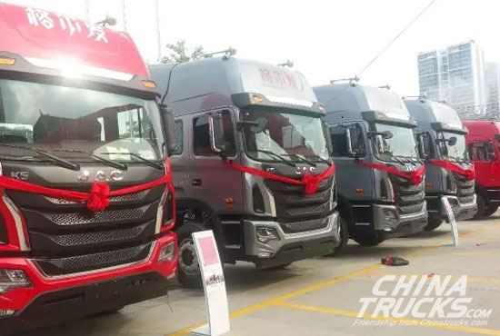 JAC GALLOP K5 with Yuchai 6K Engine Debut in Nanning