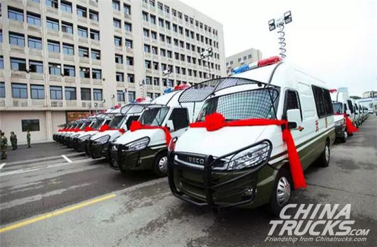 Naveco Obtain an Order of 152 Units from China Post and Fujian Public Security Ministry