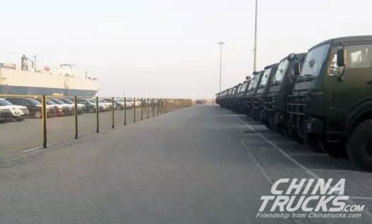 330 Beiben Transporter Trucks Exported to Overseas