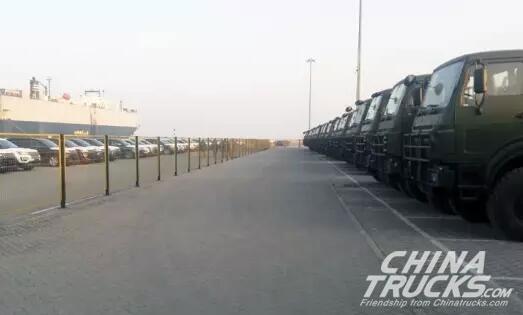 330 Beiben Transporter Trucks Exported to Overseas