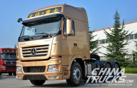 Dayun and Mercedes-Benz Co-produce the World-class Heavy Truck