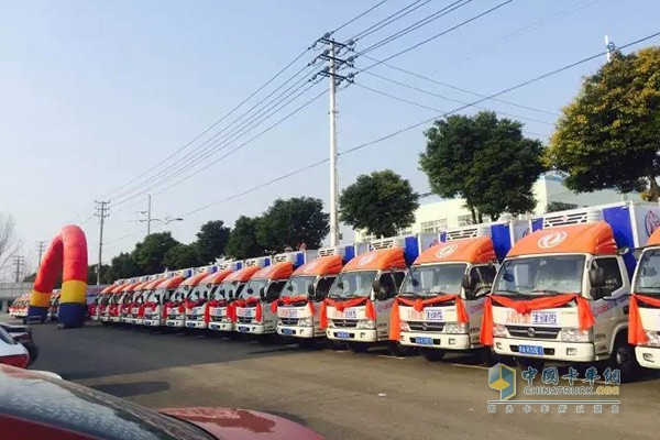 60 Dongfeng Captain E280 Delivered to Nanjing Food Company