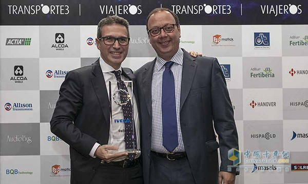IVECO wins big at the Spanish National Transport Awards