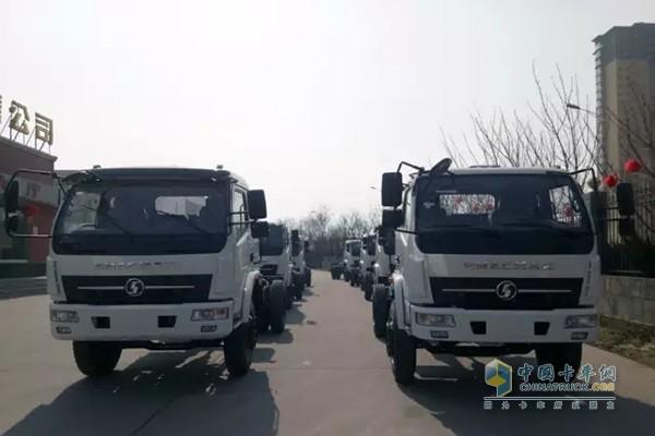 SHACMAN Delivered 34 Trucks to Burma