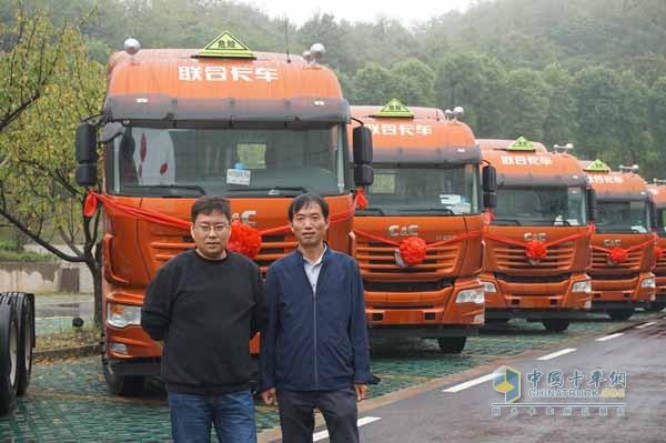 40 Units of C&C U380 Trucks Delivered to Bohua Logistics