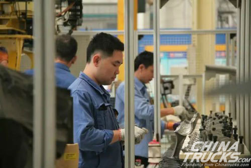 Production and Marketing of the Yuchai Engine Surge in the First Month of 2017