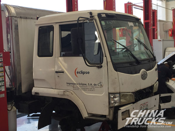 Mexico Reader Seeking Chinatrucks for FAW Truck Parts