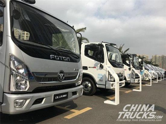 Foton Heavy-Duty Truck Sales Up 108% in February