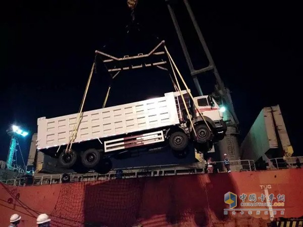 First Batch of 50 Beiben Dumpers Exports to Indonesia