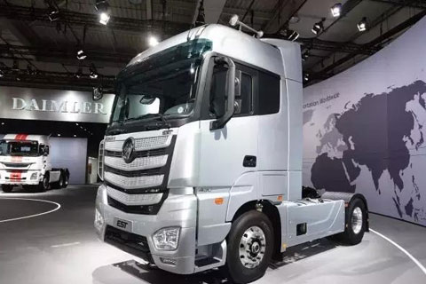 First Auman EST Super Truck to Roll Off Line