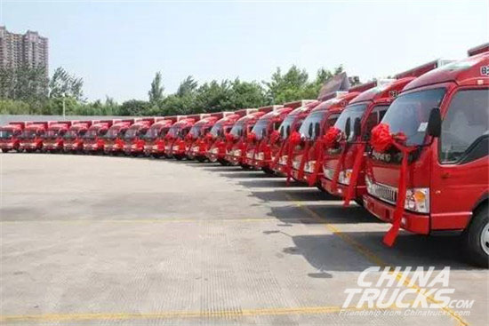 Light Truck Sales Champion Awarded to JAC for Two Consecutive Months