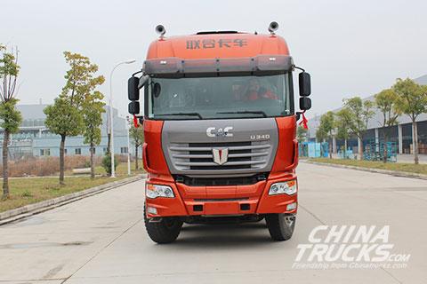 C&C U platform 8x4 Cargo truck(Diesel)SQR5311CCYD6T6