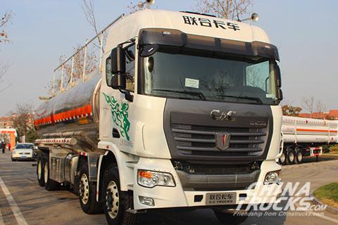 C&C U platform 8x4 oil carrying truck(Diesel) SQR1311D5T6-E1