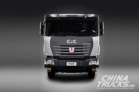 U platform 6x4 mixer truck (LNG)