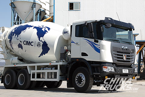C&C U platform 6x4 mixer truck(Diesel)