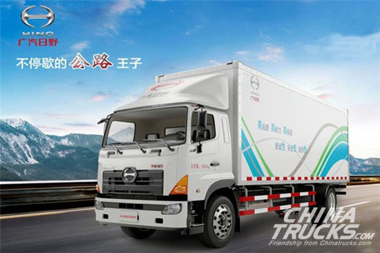 GAC HINO 4x2 Van to be Launched across China in April