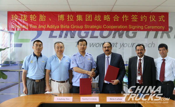 Linglong and Indian Aditya Birla Group Signs Strategic Cooperation Agreement
