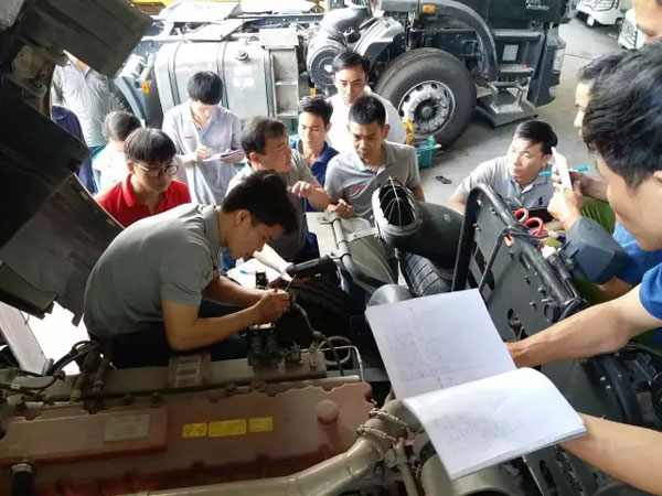 C&C Holds an Electronics Training in Vietnam in Response to Upgrade to Euro Ⅳ