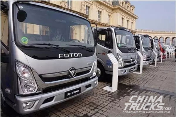 Foton Ollin CTS Remains the Hottest Segment for Light Truck Industry, Up by 15%