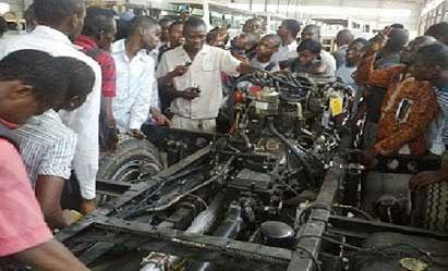 Nigeria production of vehicles hit 45,000 units per annum
