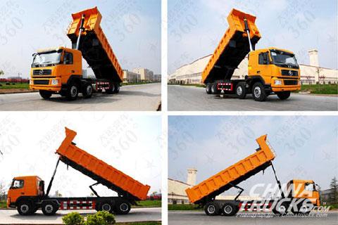 Dayun Dumper DYX3311+Weichai Power+FAST Gearbox+HANDE Axle