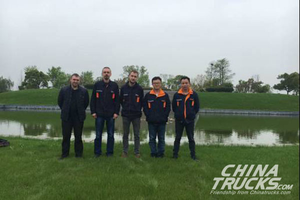 Russian Dealer Pays a Visit to C&C to Exchange on New Energy Technology