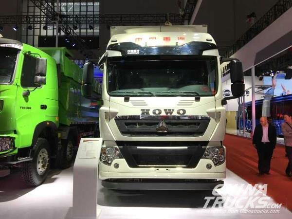 Auto Shanghai 2017: SINOTRUK Debuts SITRAK and HOWO trucks