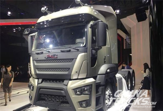 JMC reveals new cargo truck and two new CGI engines at Auto Shanghai 2017