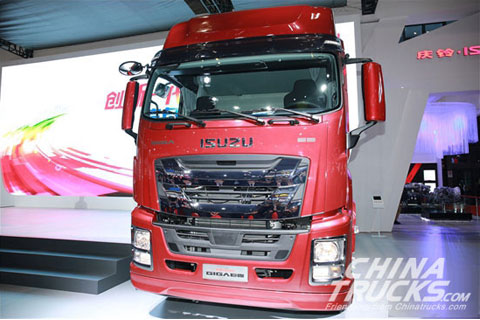 Auto Shanghai 2017: ISUZU GIGA Heavy Truck Shows Off