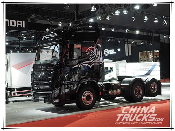 Sichuan Hyundai Brings MIGHT and TRAGO Xcient to Shanghai Autoshow