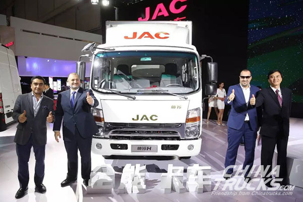 JAC World Truck Globally is Launching into the Market