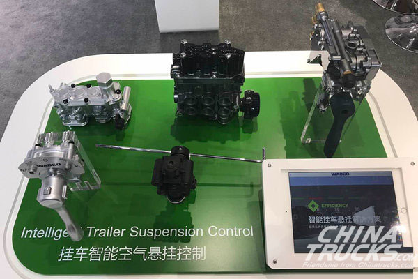 WABCO Showcases Industry-Leading CV Technologies at Auto Shanghai 2017