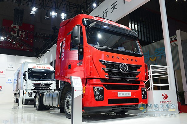 SAIC Hongyan Jieshi C500 Show up at Auto Shanghai 2017