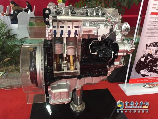 Dongfeng's First ZD30 National Ⅵ Engine is Successfully Ignited