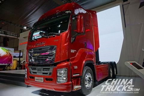 Qingling&ISUZU GIGA Heavy-duty Truck+Qingling Engine+ZF Transmission