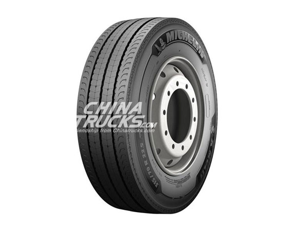 Michelin's New X Multi Truck Tyre Range Debutes at the UK's CV Show