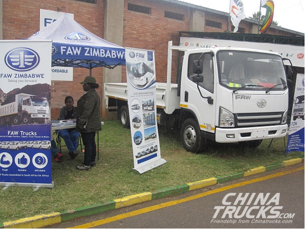 FAW to Set up Assembly Plant in Zimbabwe