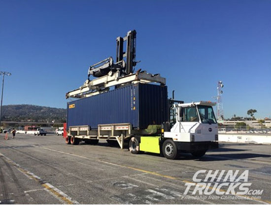 USA Port Authority to Demonstrate a Battery-electric BYD Class 8 Truck