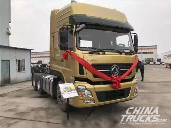 Dongfeng Reports a 90% Increase in Heavy Trucks during the First 4 Months