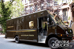 World's First Fuel Cell Electric Delivery Truck Launched by UPS