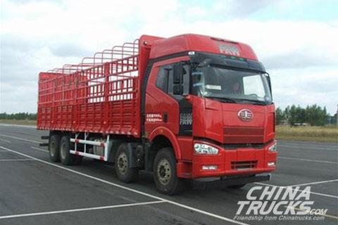 Jiefang J6p 8x4 Lvtong Truck Cargo Truck Www