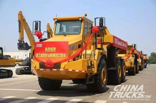 XCMG Reports a 70 percent Jump in Machinery Sales in Q1, 2017