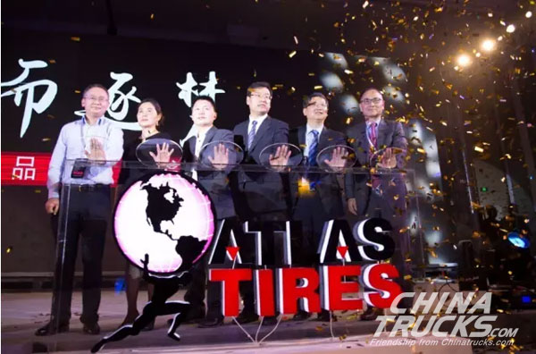 Linglong Launches Its Tyre Brand ATLAS in China