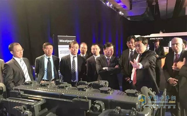Weichai Chairman Visits Europe to Discuss Global Internal Combustion Engine Tren