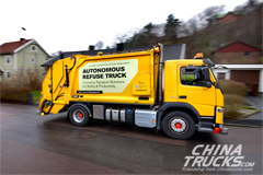 Volvo Introduces Self-driving Garbage Truck