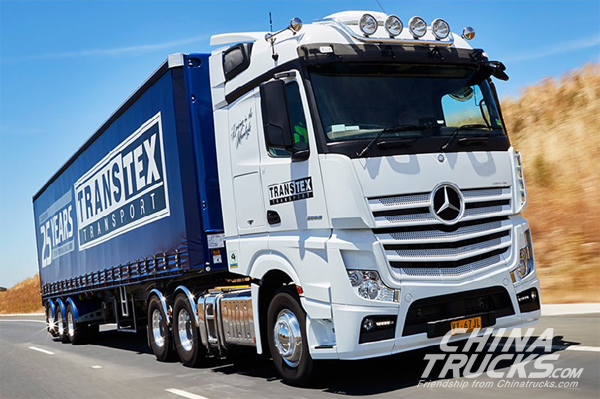 Mercedes-Benz Set to Shine at the Brisbane Truck Show