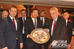 Czech President Meets with Linglong Chairman