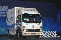 Geely Gets a 1,000-unit Order for Electric Light Trucks